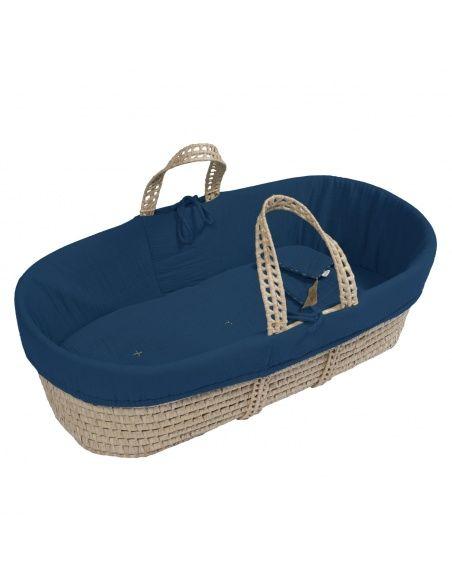 Koszyk Mojżeszowy dla dziecka ciemnoniebieski - Numero 74