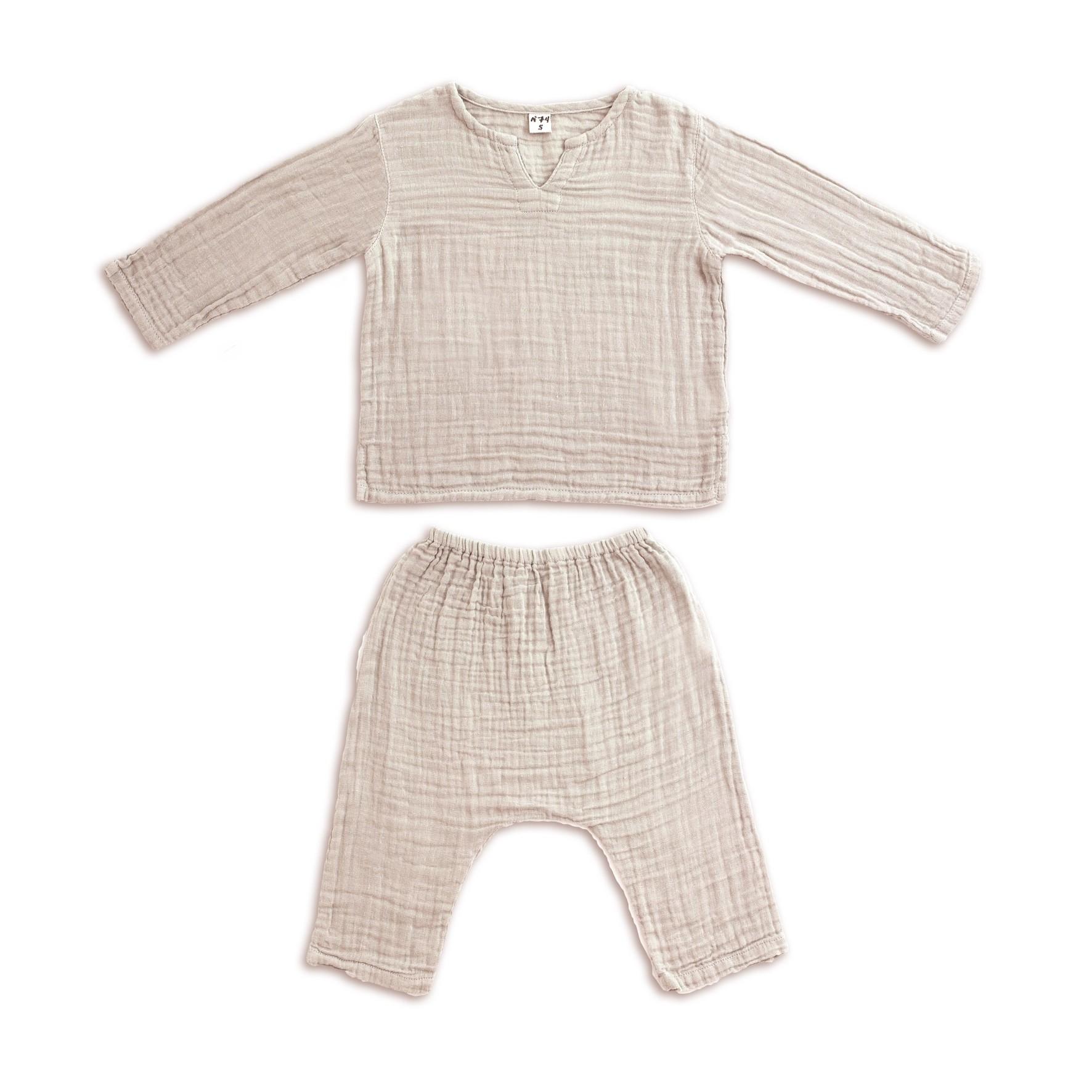 Suit Zac shirt & pants powder