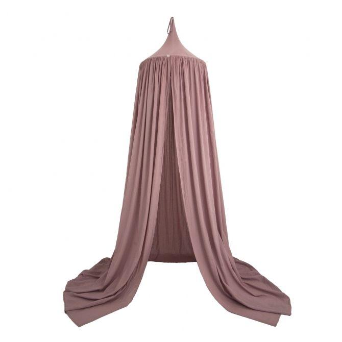 Baldachim Canopy dusty pink zgaszony róż