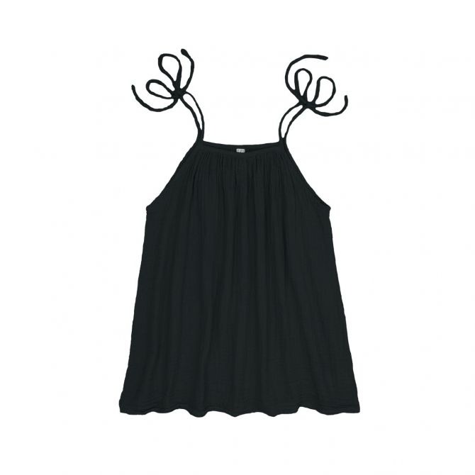 Numero 74 Dress short for mum Mia dark grey