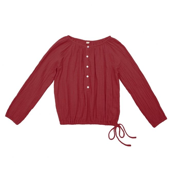 Numero 74 Shirt mum Naia ruby red