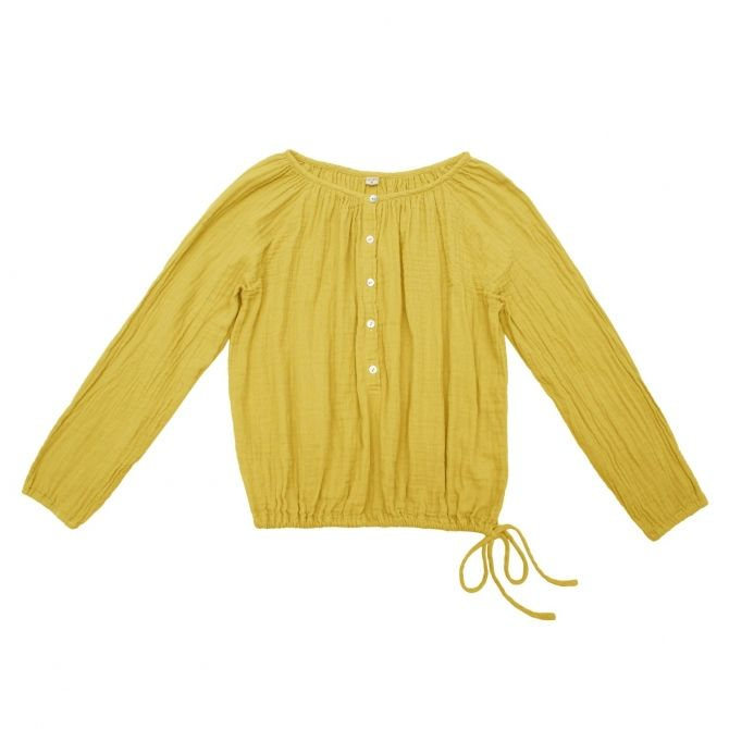 Numero 74 Shirt mum Naia sunflower yellow