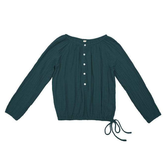 Shirt mum Naia teal blue - Numero 74