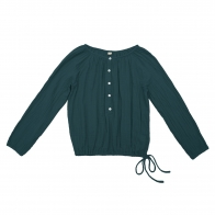 Shirt mum Naia teal blue