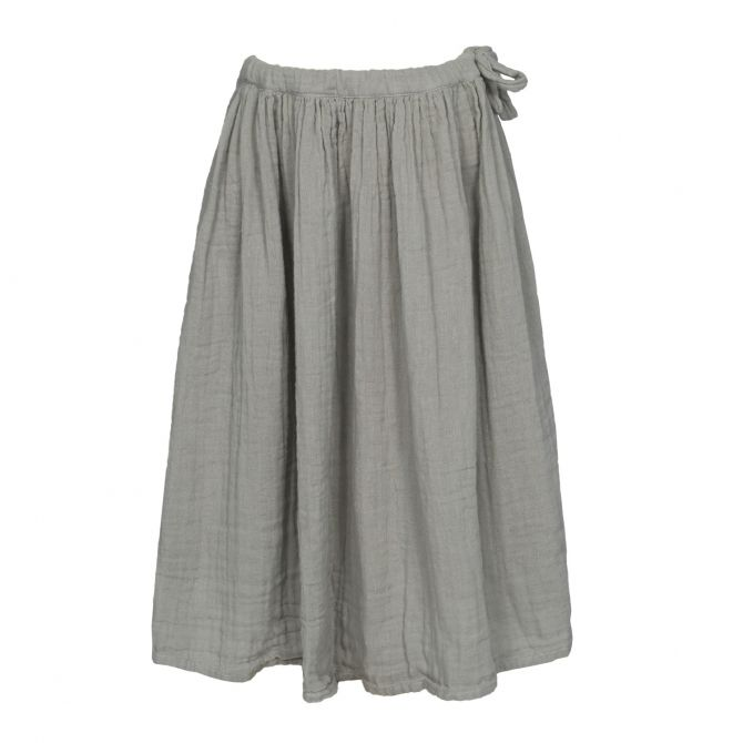Numero 74 Skirt for girls Ava long silver grey