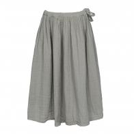 Spódnica dla dziewczynek Ava długa srebrnoszara
