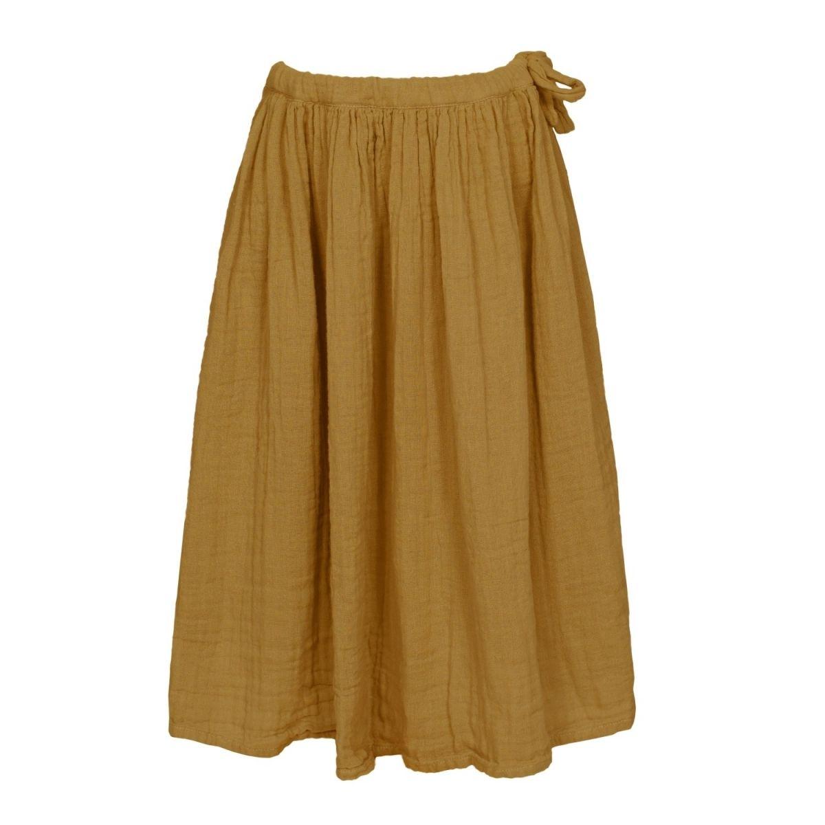 Numero 74 Spódnica dla dziewczynek Ava długa musztardowa