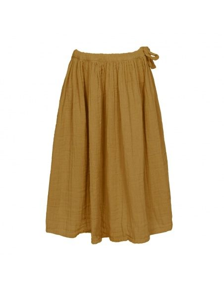 Spódnica dla dziewczynek Ava długa musztardowa - Numero 74