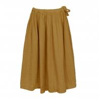 Spódnica dla dziewczynek Ava długa musztardowa
