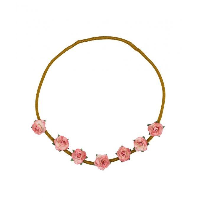 Opaska Flower różowa - Numero 74