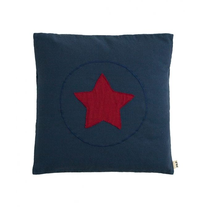 Numero 74 Cushion Super Hero night blue