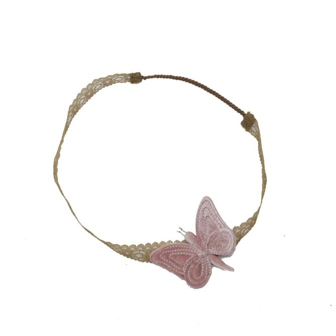 Headband Butterfly mix colours - Numero 74