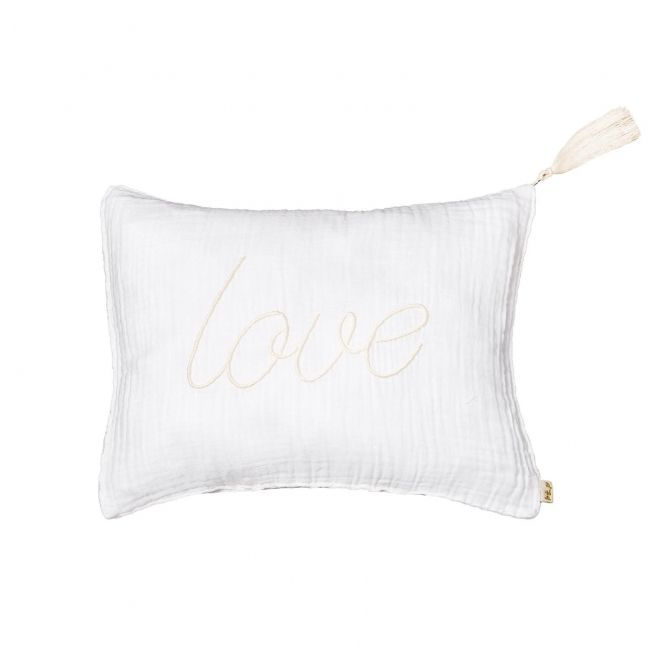 Cushion Message white - Numero 74