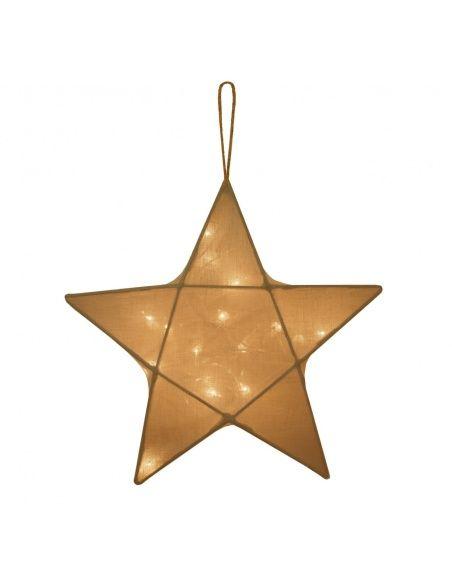 Numero 74 Lantern Star gold