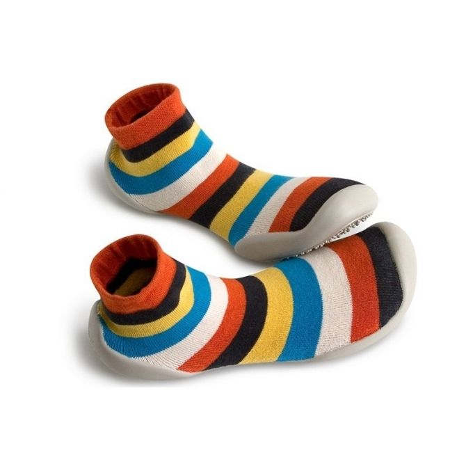 Collégien Slipper Socks PLAY Le jongleur stripes