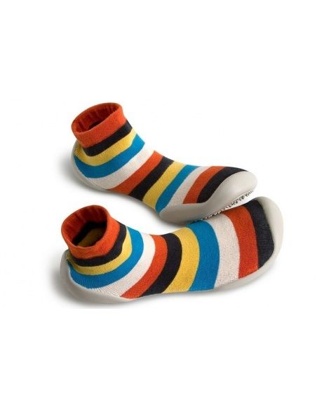 Slipper Socks PLAY Le jongleur stripes - Collégien
