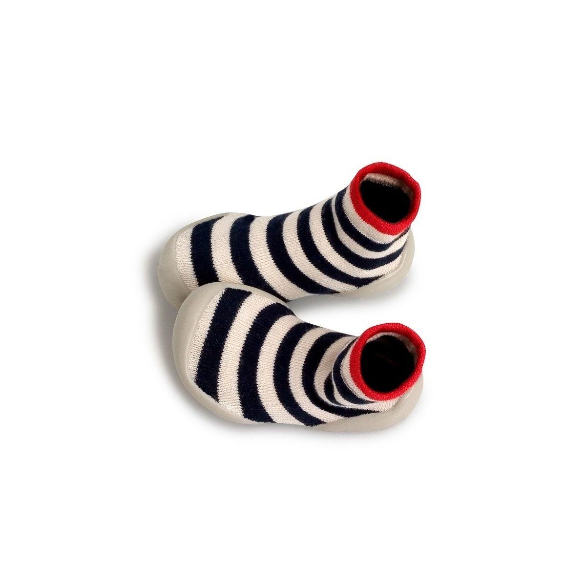 Collégien Slipper Socks Kosmic stripes