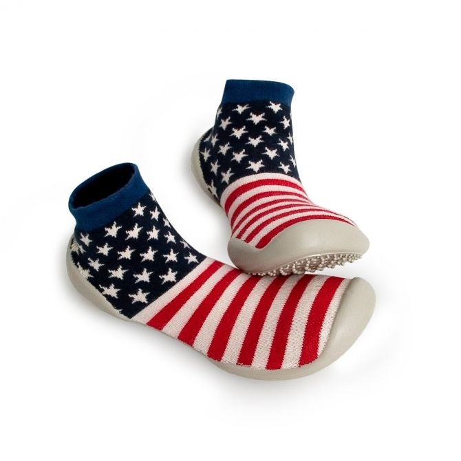 Slipper Socks Captain America - Collégien