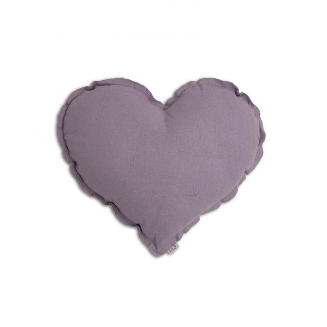 Numero 74 Heart Cushion dusty lilac
