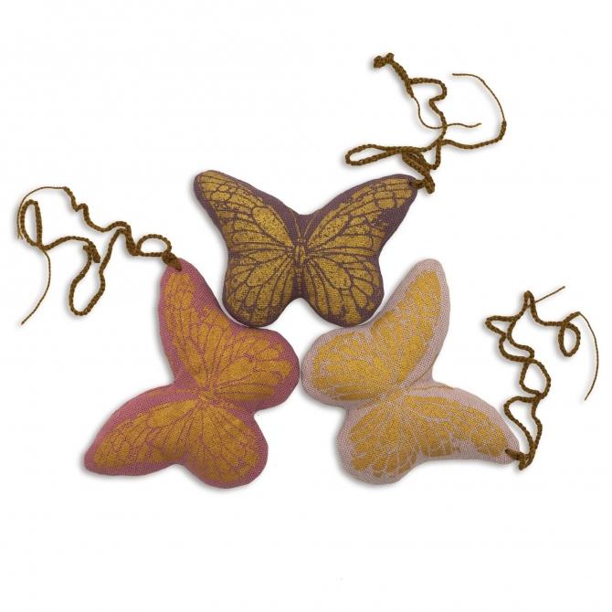 Breloczek do kluczy Butterfly mix kolorów - Numero 74