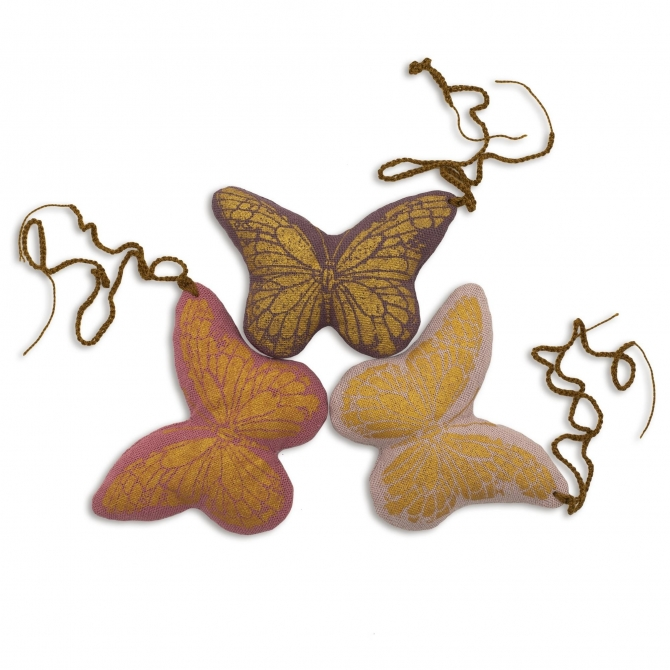 Keychain Butterfly mix colors - Numero 74