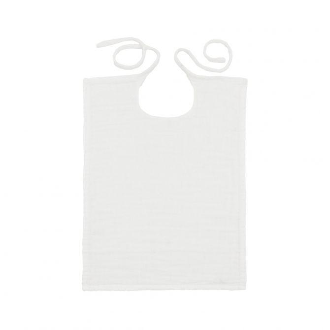 Śliniak Kwadratowy biały - Numero 74