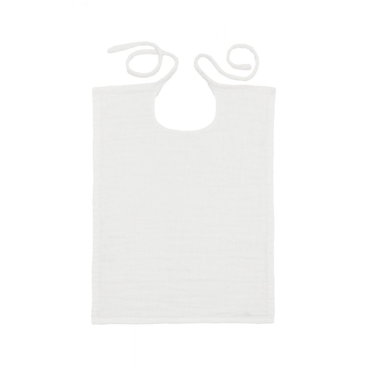 Numero 74 Śliniak Kwadratowy biały