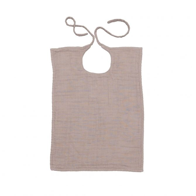 Baby Bib Square dusty pink - Numero 74