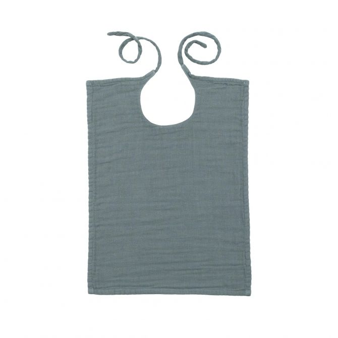Baby Bib square ice blue - Numero 74