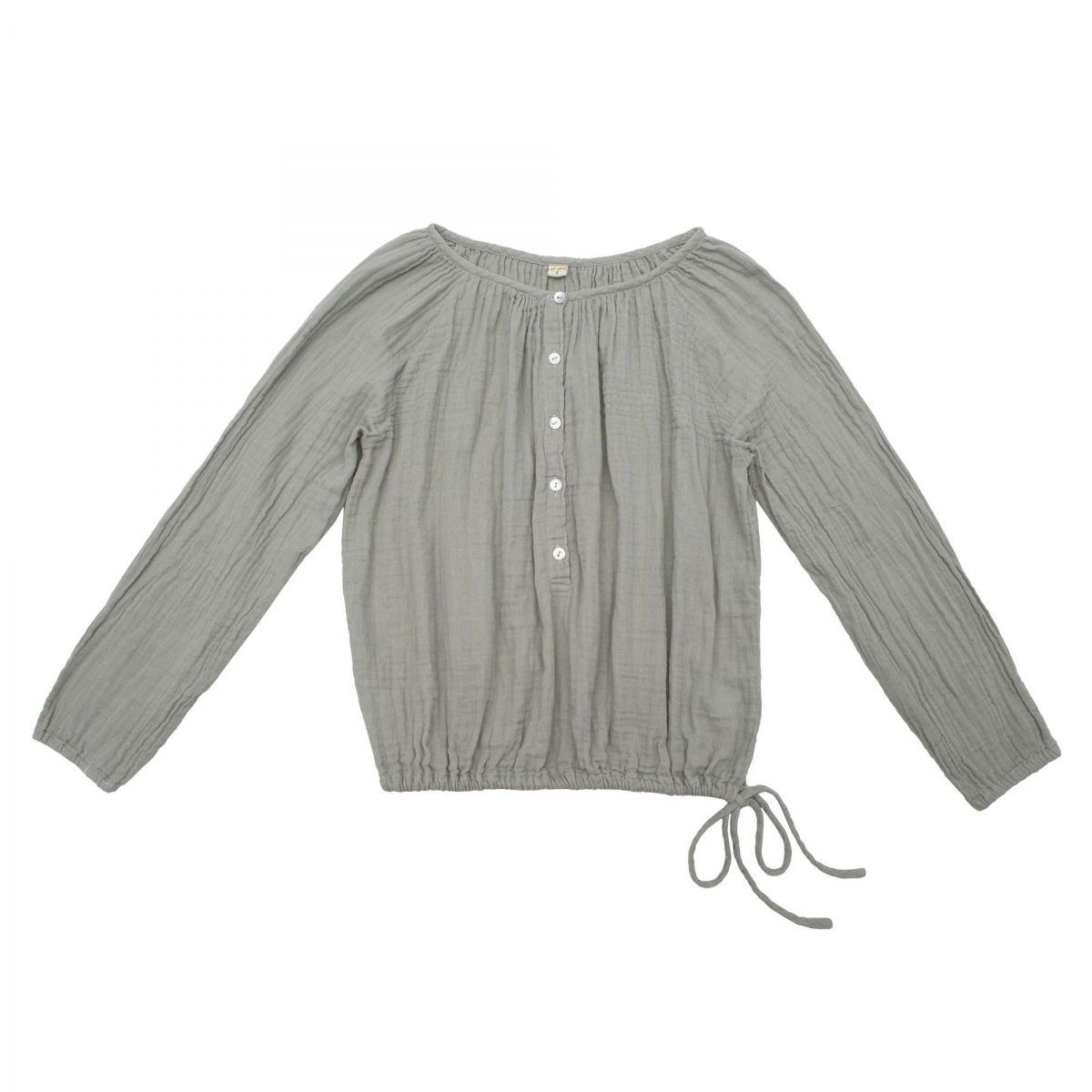 Numero 74 Shirt mum Naia silver grey