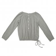 Shirt mum Naia silver grey
