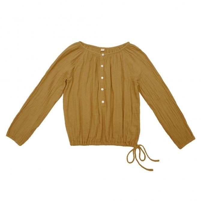 Bluzka dla mam Naia musztardowa - Numero 74