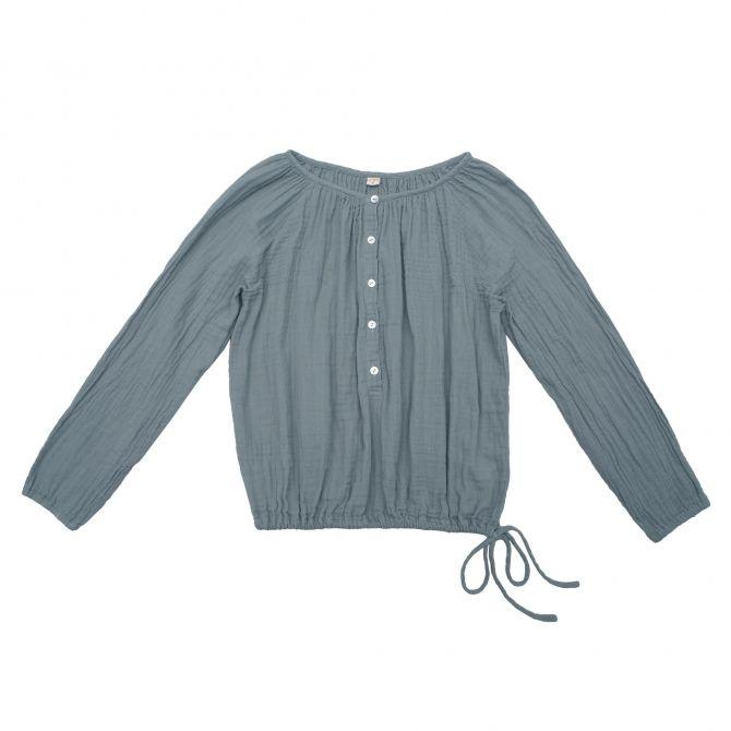 Bluzka dla mam Naia szaroniebieska - Numero 74