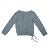 Bluzka dla mam Naia szaroniebieska