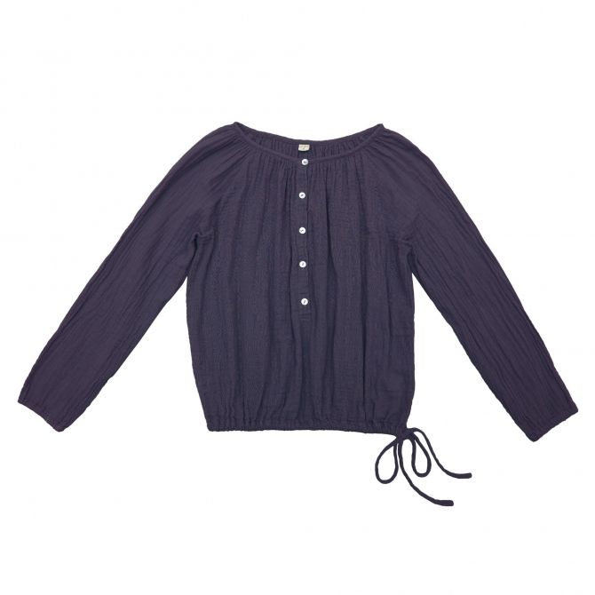 Shirt mum Naia sweet aubergine - Numero 74