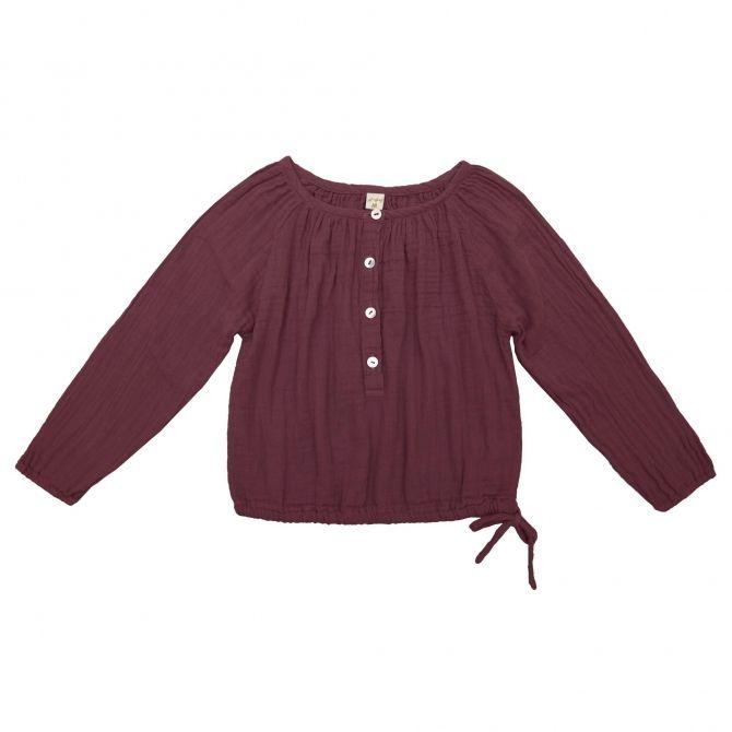 Shirt Naia red macaron - Numero 74