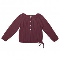 Shirt Naia red macaron
