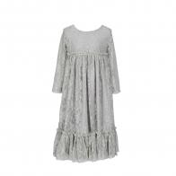 Sukienka Carolina srebrnoszara