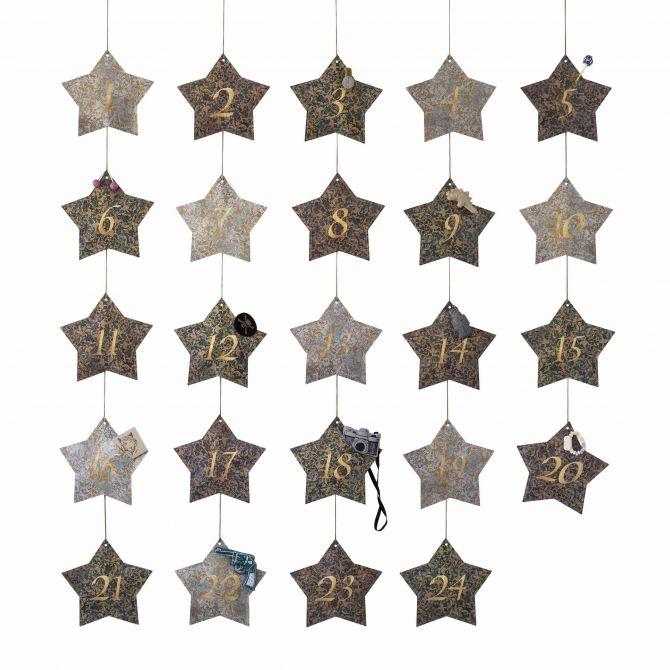 Advent Calendar Star mix boy