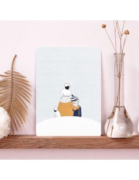 Kartka Under the Snow Boy - My Lovely Thing