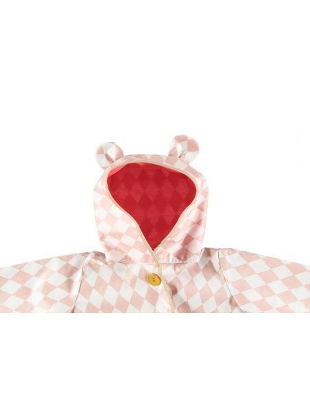 Nobodinoz Raincoat Venezia pink diamonds