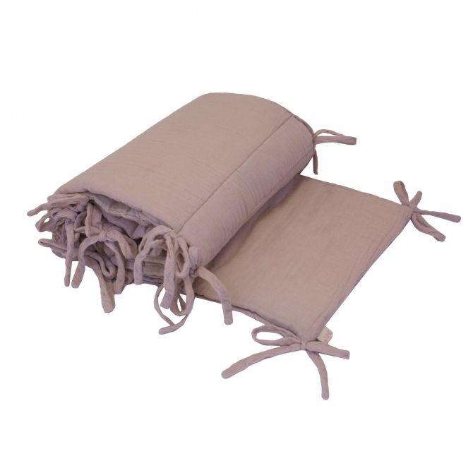 Ochraniacz do łóżeczka zgaszony róż - Numero 74