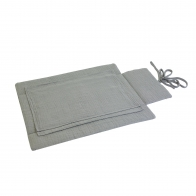 Travel Changing Pad silver grey