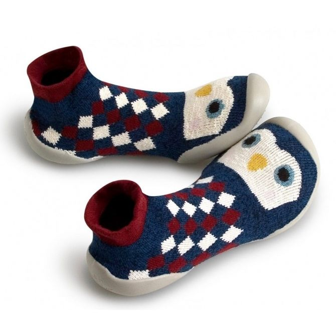 Slipper Socks Petits Pingouins small penguins - Collégien