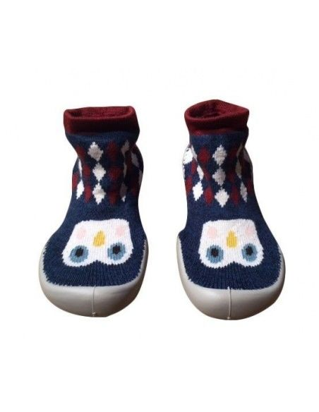 Collégien Slipper Socks Petits Pingouins small penguins