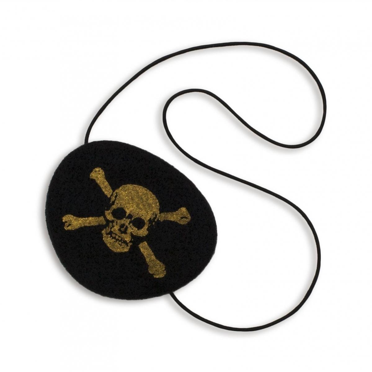 Maska Oko Pirata czarna - Numero 74