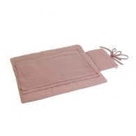 Travel Chaning Pad dusty pink