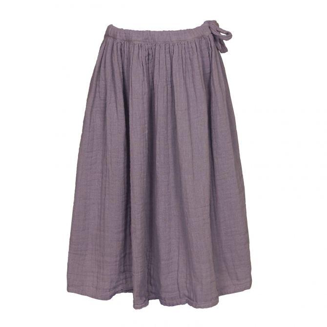 Spódnica dla dziewczynek Ava długa zgaszony fiolet - Numero 74