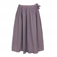 Spódnica dla dziewczynek Ava długa zgaszony fiolet