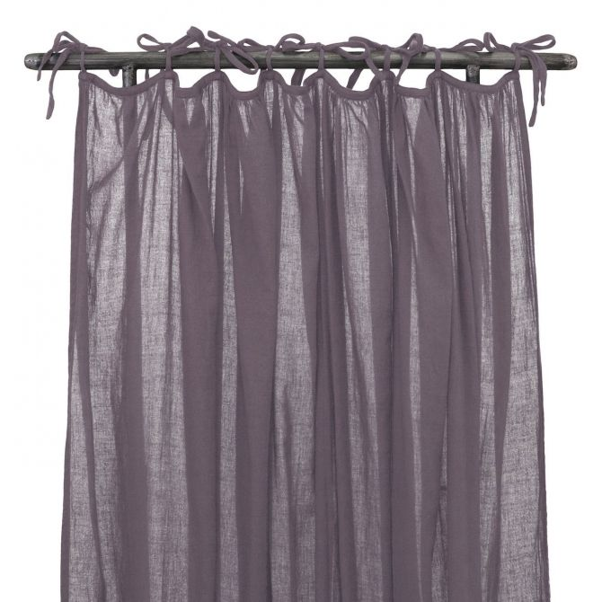 Curtain Gathered dusty lilac - Numero 74